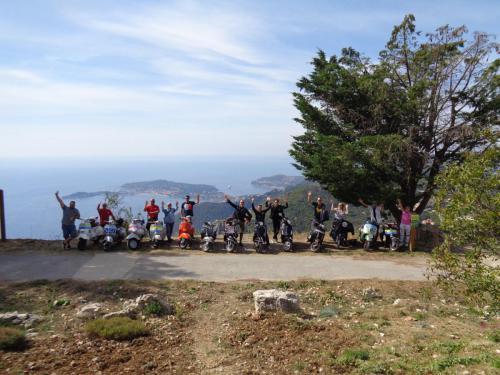 Vespa parade Cote d'Azur